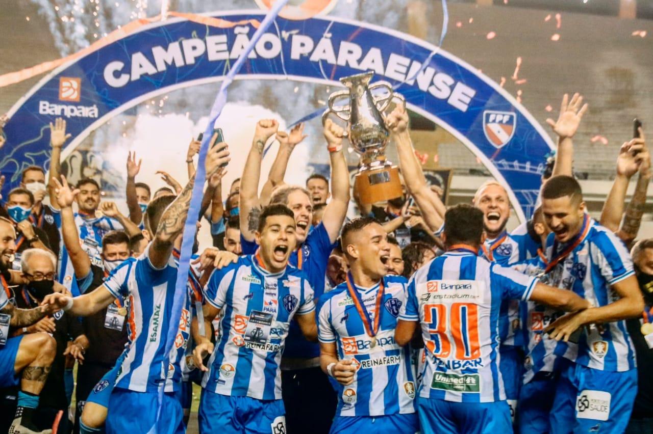 Paysandu é campeão paraense de futebol 2020 após vencer duas vezes o Remo |  Portal OESTADONET